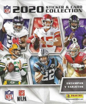 2020 Panini NFL Football Sticker Collection Retail STICKER BOX
