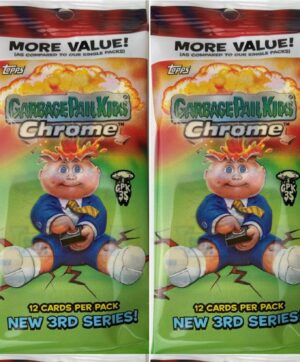 2020 Topps Garbage Pail Kids #3 CHROME New, Factory Sealed 12 Cards Per Pack FAT PACK