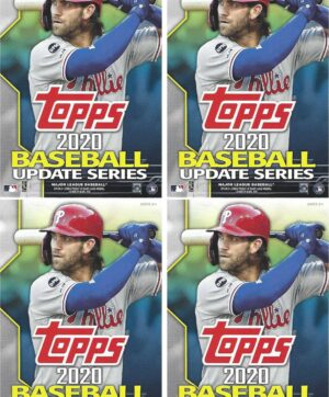 2020 Topps Update Series Baseball MLB 67-Card HANGER BOX