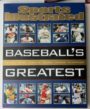 Sports Illustrated Baseball's Greatest, Hardcover Coffee Table Book