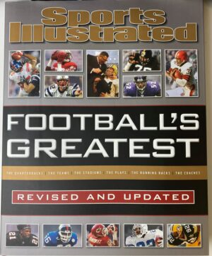 Sports Illustrated Football's Greatest, Hardcover Coffee Table Book