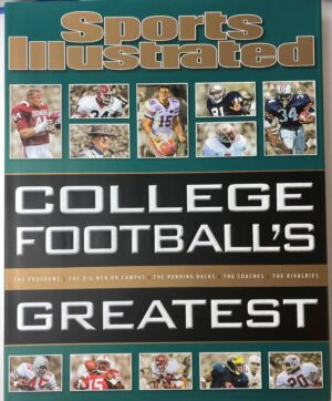 Sports Illustrated College Football's Greatest, Hardcover Coffee Table Book