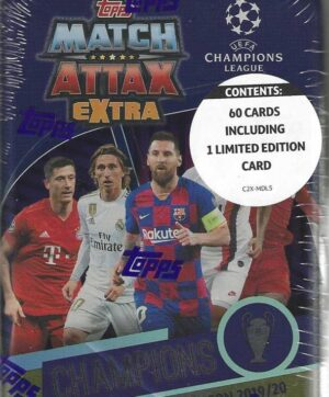 2019-20 Topps Champions League Match Attax EXTRA UEFA CHAMPIONS MIDI TIN