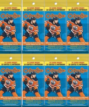 2020-21 Upper Deck O-Pee-Chee Hockey NHL Trading Cards New, Full, Sealed 32 Card FAT PACK