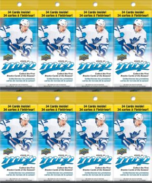 2020-21 Upper Deck MVP Hockey NHL Trading Cards New, Full, Sealed 34 Card FAT PACK