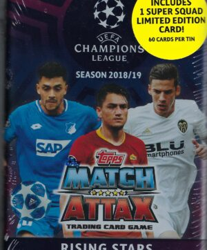 2018-19 Topps Champions League Match Attax UEFA RISING STARS MIDI TIN