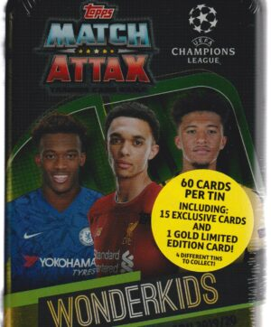 2019-20 Topps Champions League Match Attax UEFA WONDERKIDS MIDI TIN