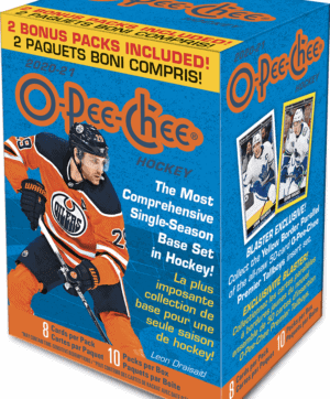 2020-21 Upper Deck O-Pee-Chee NHL 80 ct. BLASTER BOX