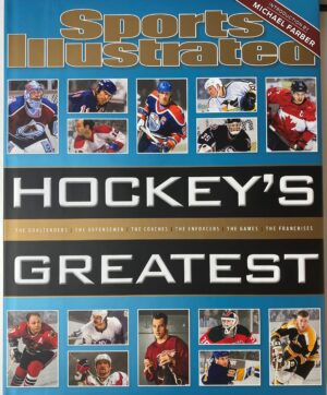 Sports Illustrated Hockey's Greatest, Hardcover Coffee Table Book