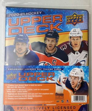 2020-21 Upper Deck Series 1 Hockey NHL Trading Card Collector STARTER KIT