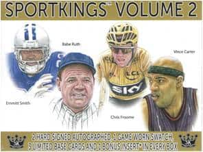 2021 Sportkings Volume 2 All Sports 7 ct. HOBBY BOX
