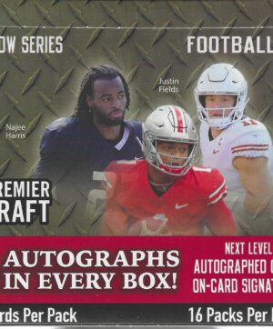 2021 Sage Premier Draft Football Low Series 112 Ct. HOBBY BOX