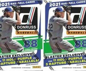 2021 Panini Donruss BASEBALL New Sealed 88 Card BLASTER BOX