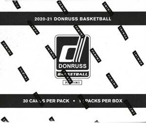 2020-21 Panini Donruss Basketball NBA 360 Ct. FAT PACK BOX