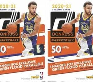 2020-21 Panini Donruss Basketball NBA 50 Ct. HANGER BOX