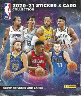 2020-21 Panini NBA Basketball Stickers - 250 Stickers + 50 Cards Per RETAIL BOX