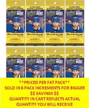 2020-21 Upper Deck Series 2 Hockey NHL 26ct. FAT PACK