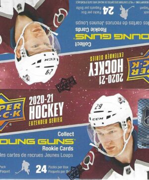 2020-21 Upper Deck Extended Series NHL Hockey 192 Ct. DISPLAY BOX (Auction)