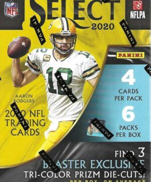 2020 Panini Select Football NFL 24 Card BLASTER BOX