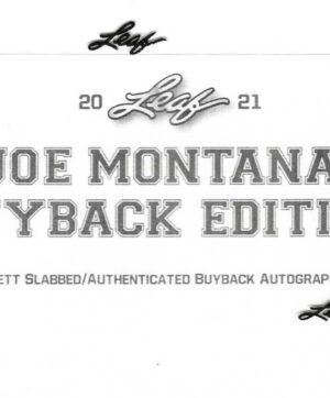 2021 Leaf Joe Montana Buyback Edition Box 1 Ct. BUYBACK BOX