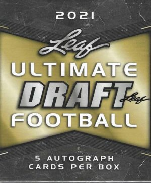 2021 Leaf Ultimate Draft Football 5 Ct. HOBBY BOX (Auction)