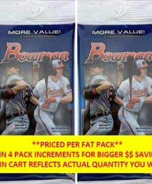 2021 Topps Bowman Baseball MLB 19 Ct. FAT PACK