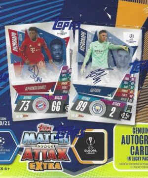 2020-21 Topps UEFA Champions League Match Attax EXTRA Soccer UEFA DISPLAY BOX