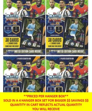 2020-21 Topps UEFA Champions League Match Attax EXTRA Soccer UEFA HANGER BOX