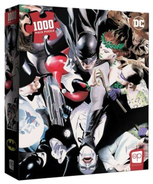 """2021 USAopoly DC Batman """"Tango with Evil"""" New 1,000 pc. PUZZLE"""