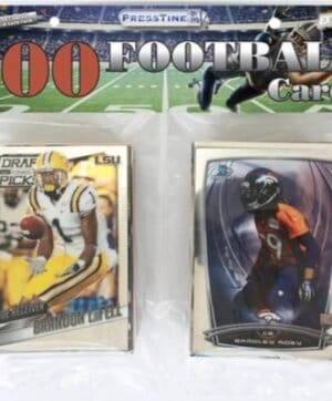 2021 PMI NFL Football Trading Cards New Sealed 100 Card Bulk Pack