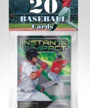 2021 PMI MLB Baseball Trading Cards Bulk Packed 20 Ct. Packs, Assorted 24 PACK CASE (Auction)