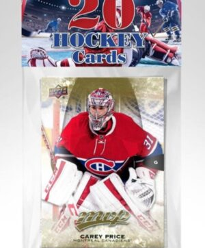 2021 PMI NHL Hockey Trading Cards Bulk Packed 20 Card Packs, Assorted 24 PACK CASE (Auction)