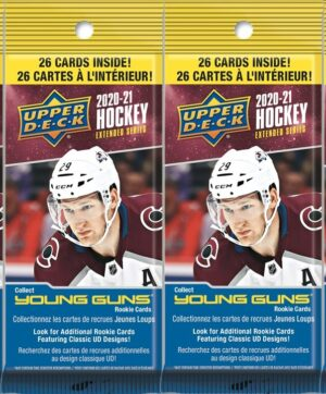 2020-21 Upper Deck Extended Series Hockey NHL 26Ct. FAT PACK